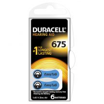 Duracell acoustic 675 BL6